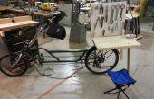 Estación de reparación de bicicleta portátil