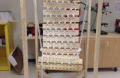 Suspendido los silla de madera