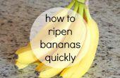 Cómo madurar plátanos rápidamente