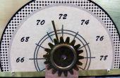 Calibrador de temperatura con un servo