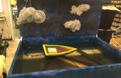 Universidad de Cincinnati CCM - Diorama de agua neumático