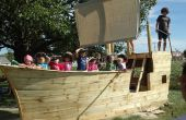 Playhouse de la nave del pirata