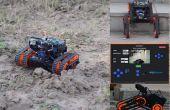 Rakshak uno: un rover para recopilación de datos y vigilancia con funciones de registro de datos, alertas de voz y medición de la distancia.