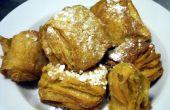 Croisseignet Croissant Beignet frito pasteles tratar