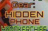 Ocultos teléfono pañuelo