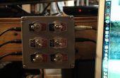 Caja de conmutador de audio (conectores estéreo de 1/8 pulg.)