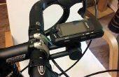 Montaje GPS (705/805) de bicicleta de Garmin (para placa frontal)