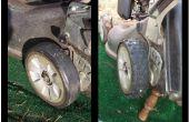 Recauchutado de los neumáticos cortacésped