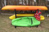 Cómo hacer un estante de almacenamiento al aire libre de Kayak