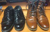 Cómo brillar zapatos