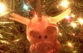 Ornamento de la Navidad del cerdo