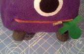 Uno Eyed, un Cornudo vuelo púrpura personas comedor