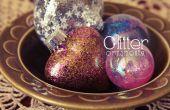 Glitter DIY adorno