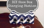 Como caja de zapatos DIY estación de carga para tus dispositivos
