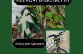 Ocultar lejos emergencia Kit; Montaña bicicleta aplicación incluido