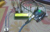 Sentido de temperatura y visualización en LCD usando Simulink y Arduino UNO