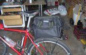 Bolsa de bastidor trasero de bicicleta de liberación rápida