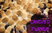 Confitadas de ñame púrpura