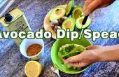 Cómo hacer Dip de aguacate difundir Salsa