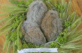 Cuando los conejos ponen huevos | Semana Santa americano (arte decorativo)