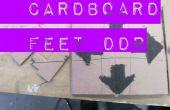 Pies de cartón DDR