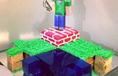 Fresco pastel de Minecraft que es fácil de hacer y va a satisfacer a los más acérrimos jugadores de Minecraft.