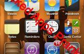 """IPhone """"Aplicaciones rotas"""" broma"""