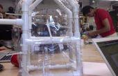 Casa del pájaro de PVC