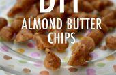 Chips de mantequilla de almendras DIY