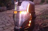 Ironman \ quemador madera máquina de guerra