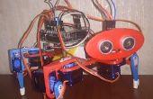 3D impreso cuadrúpedos Arduino Robot