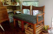 Hacer un banco de sofá de dos sillas