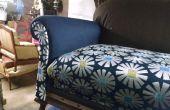 Tapice un sofá sin coser ni electricidad