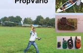 PropVario, un variómetro/altímetro DIY con salida de voz para planeadores RC