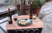 Estante de barril del vino