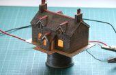 Mejorar equipos tarjeta de ferrocarril modelo, ferrocarril o diorama