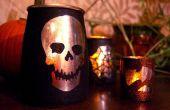 """Mercurio"" velas de Halloween Spooktacular"