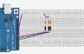 ARDUINO UNO - Commom ánodo RGB LED 3-color parpadeo utilizando código Simple