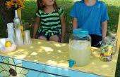 Puesto de limonada de plataforma