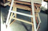 Caballete regulable de madera