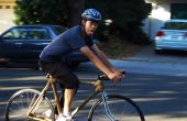 Marco de bicicleta de bambú.