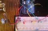 Valores del potenciómetro de LED
