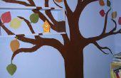 Pintar un Mural del árbol