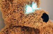 ElectroPlush - para dormir el oso de peluche que se despierta hasta cuando ser tocado en el vientre