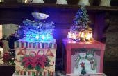 Cómo hacer un Mini Portal de árbol de Navidad de regalo
