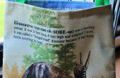 Cómo hacer una bolsa de dinosaurios para los niños