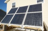 Sistema hidrónico de térmica Solar para calefacción de espacio de invierno