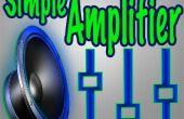Cómo hacer un Mini amplificador de Audio sencillo