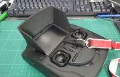 Hubsan H107D FPV X 4 controlador pantalla parasol