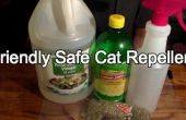 Ambiente (pero eficaz) Cat repelente
